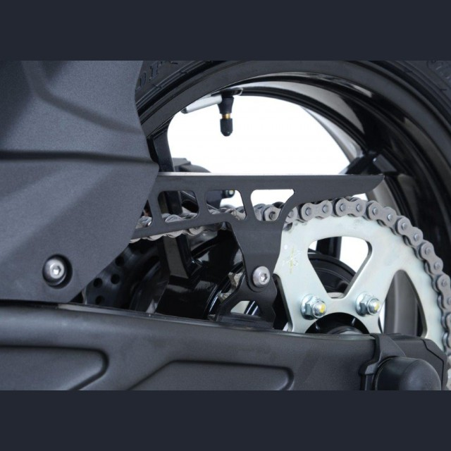 R&G Kettenschutz Edelstahl Kawasaki Z 650 / Ninja 650 2017-