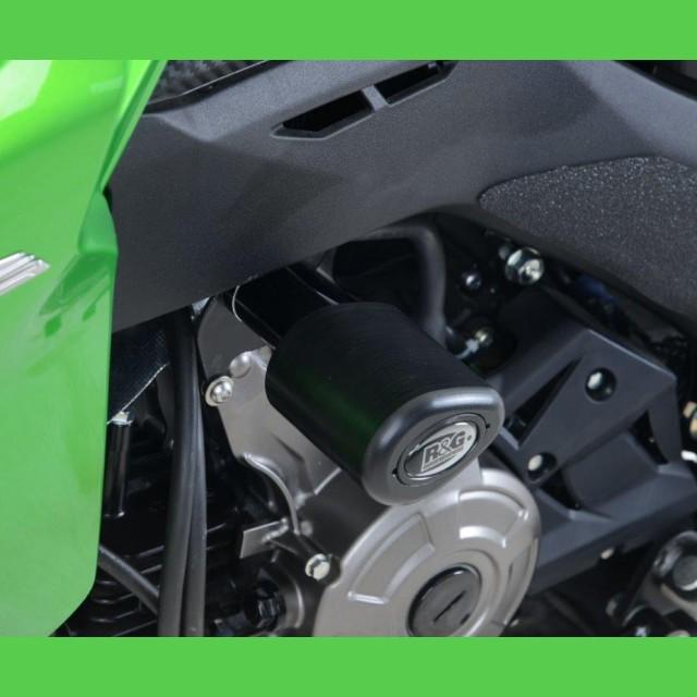 """R&G Racing Sturzpads """"No Cut"""" Kawasaki Z 125 2016"""