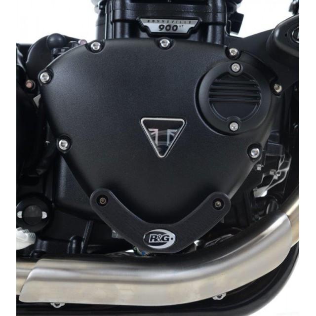 R&G Motor Protektor rechts Triumph Thruxton 1200 / 1200 R 2016- / Street Cup 2017-