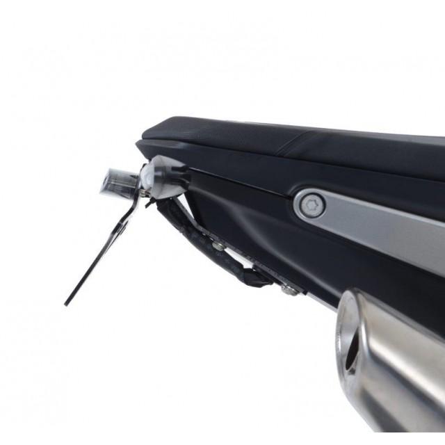 R&G Kennzeichenhalter mit Hitzeschutz für Blinker KTM Duke 790 2018- / Duke 890 R 2020-